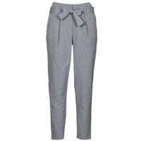 Clothing Women Chinos Only ONLNICOLE Grey