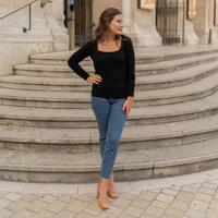 Clothing Women Jumpers Céleste NYSSA Black