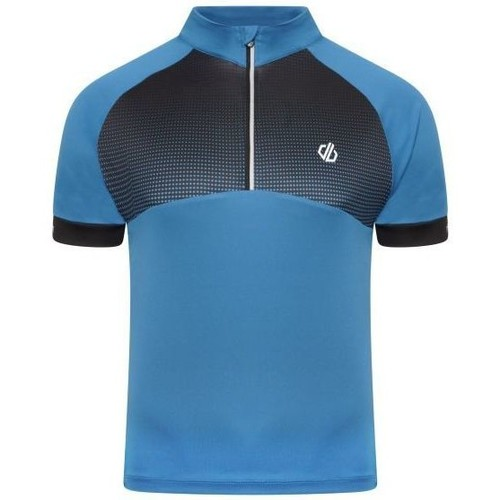 Clothing Men Short-sleeved t-shirts Dare 2b STAY THE COURSE Cycling Jersey Blue