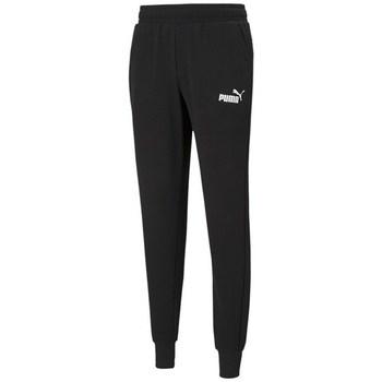 Clothing Men Tracksuit bottoms Puma Ess Logo TR CL Black