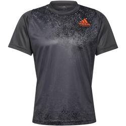 Clothing Men Short-sleeved t-shirts adidas Originals T-shirt  HB Train gris foncé/rouge corail