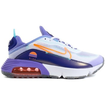 Shoes Children Low top trainers Nike Air Max 2090 SE 2 GS White, Violet