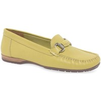 Shoes Women Loafers Charles Clinkard Rosela Womens Moccasins yellow