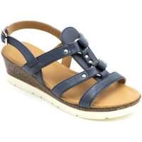 Shoes Women Sandals Padders Heather Womens Sling Back Sandals blue