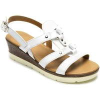 Shoes Women Sandals Padders Heather Womens Sling Back Sandals white