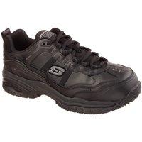 Shoes Men Safety shoes Skechers Soft Stride Grinnel Comp Mens Wide Fit Safety Shoes black