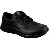 Shoes Men Low top trainers Skechers Flex Advantage Fourche SR Mens Shoes black