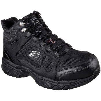 Shoes Men Safety shoes Skechers Ledom Mens Safety Boots black