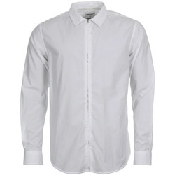 Clothing Men Long-sleeved shirts Norse Projects Shirt - White Osvald Poplin