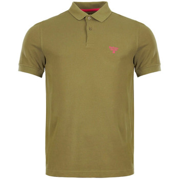 Clothing Men Short-sleeved polo shirts Barbour MML0961 GN15
