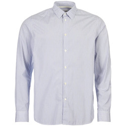 Clothing Men Long-sleeved shirts Norse Projects Shirt Hans - Blue Stripe
