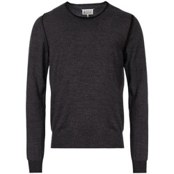 Clothing Men Jumpers Maison Margiela Knitted Sweater – Grey