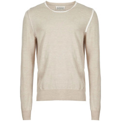 Clothing Men Jumpers Maison Margiela Knitted Sweater - Beige