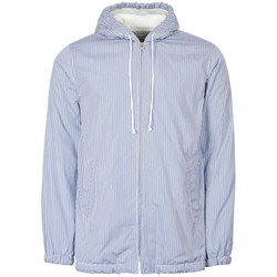 Clothing Men Track tops Comme Des Garcons Shirt Hoodie Striped - Blue / Navy / White