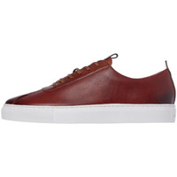 Shoes Men Low top trainers Grenson Sneaker 1 - Hand Painted Tan