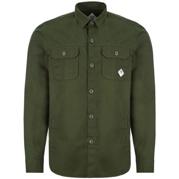Clothing Men Long-sleeved shirts Barbour MOS0080 GN91