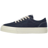 Shoes Men Low top trainers Stepney Workers Club Dellow Canvas Trainers - Petrol