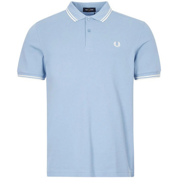 Clothing Men Short-sleeved polo shirts Fred Perry Polo Shirt Twin Tipped - Blue