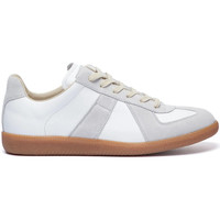 Shoes Men Low top trainers Maison Margiela Replica Low Top Trainers - White / Grey