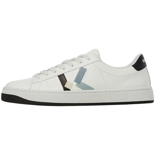 Shoes Men Low top trainers Kenzo K Logo Sneakers - White