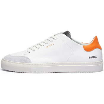 Shoes Men Low top trainers Axel Arigato Clean 90 Sneakers – White / Green / Orange