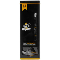 Shoe accessories Men Care Products Crep Protect Wipes 32 Pack - Black