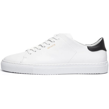 Shoes Men Low top trainers Axel Arigato Clean 90 Contrast Trainers - White / Black