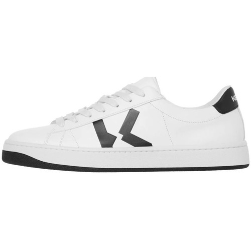 Shoes Men Low top trainers Kenzo Sneakers K Logo - White