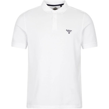 Clothing Men Short-sleeved polo shirts Barbour MML0961 WH11