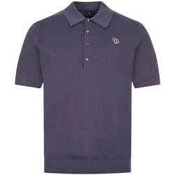 Clothing Men Short-sleeved polo shirts Paul Smith Knitted Polo Shirt - Blue