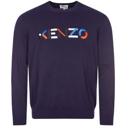 Clothing Men Jumpers Kenzo Sweater – Navy