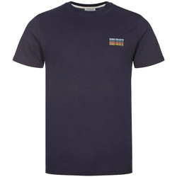 Clothing Men Short-sleeved t-shirts Norse Projects Neils T-Shirt Logo Stack - Navy