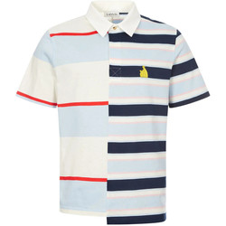 Clothing Men Short-sleeved polo shirts Lanvin Rugby Patchwork Polo Shirt - Multi