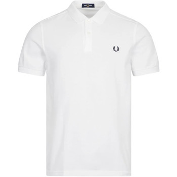 Clothing Men Short-sleeved polo shirts Fred Perry Polo Shirt FP - White