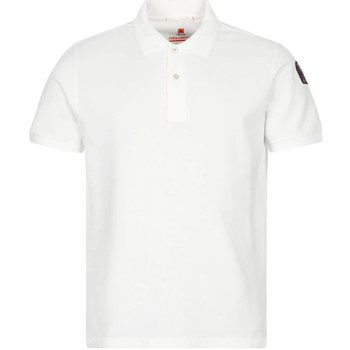 Clothing Men Short-sleeved polo shirts Parajumpers Polo Shirt - Off White