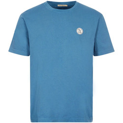 Clothing Men Short-sleeved t-shirts Nudie 131680 SKYBLUE
