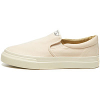 Shoes Men Slip-ons Stepney Workers Club Lister Canvas Trainers - Ecru