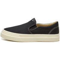 Shoes Men Slip-ons Stepney Workers Club Lister Canvas Trainers - Black