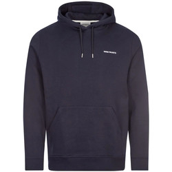 Clothing Men Sweaters Norse Projects Vagn Logo Hoodie - Navy