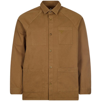 Clothing Men Long-sleeved shirts Barbour MOS0156 GN84
