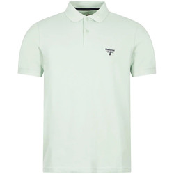 Clothing Men Short-sleeved polo shirts Barbour MTS0717 GN45