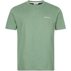 Clothing Men Short-sleeved t-shirts Norse Projects Niels Core Logo T-Shirt - Linchen Green