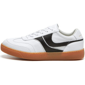 Shoes Men Low top trainers Dries Van Noten Trainer Leather - White