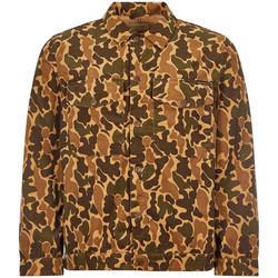 Clothing Men Long-sleeved shirts Nudie Colin Jacket - Camouflage