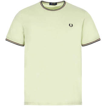Clothing Men Short-sleeved t-shirts Fred Perry Twin Tipped T-Shirt - Willow