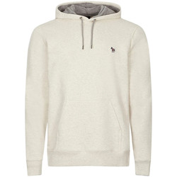 Clothing Men Sweaters Paul Smith Hooded Sweat - Off-White / Grey