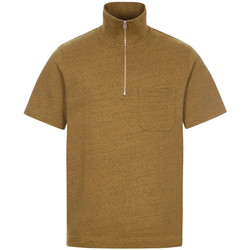 Clothing Men Short-sleeved polo shirts Norse Projects Jorn Half Zip Polo - Duffle