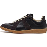 Shoes Men Low top trainers Maison Margiela Replica Low Top Trainers - Washed Black