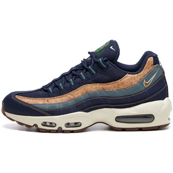 Shoes Men Low top trainers Nike Air Max 95 Trainers Cork - Obsidian Wheat / Blue