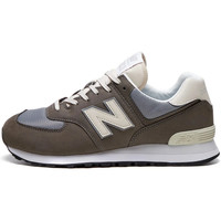 Shoes Men Low top trainers New Balance 574 Trainers - Brown / Grey